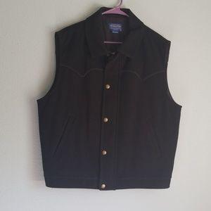 Men's Pendleton vest, XL